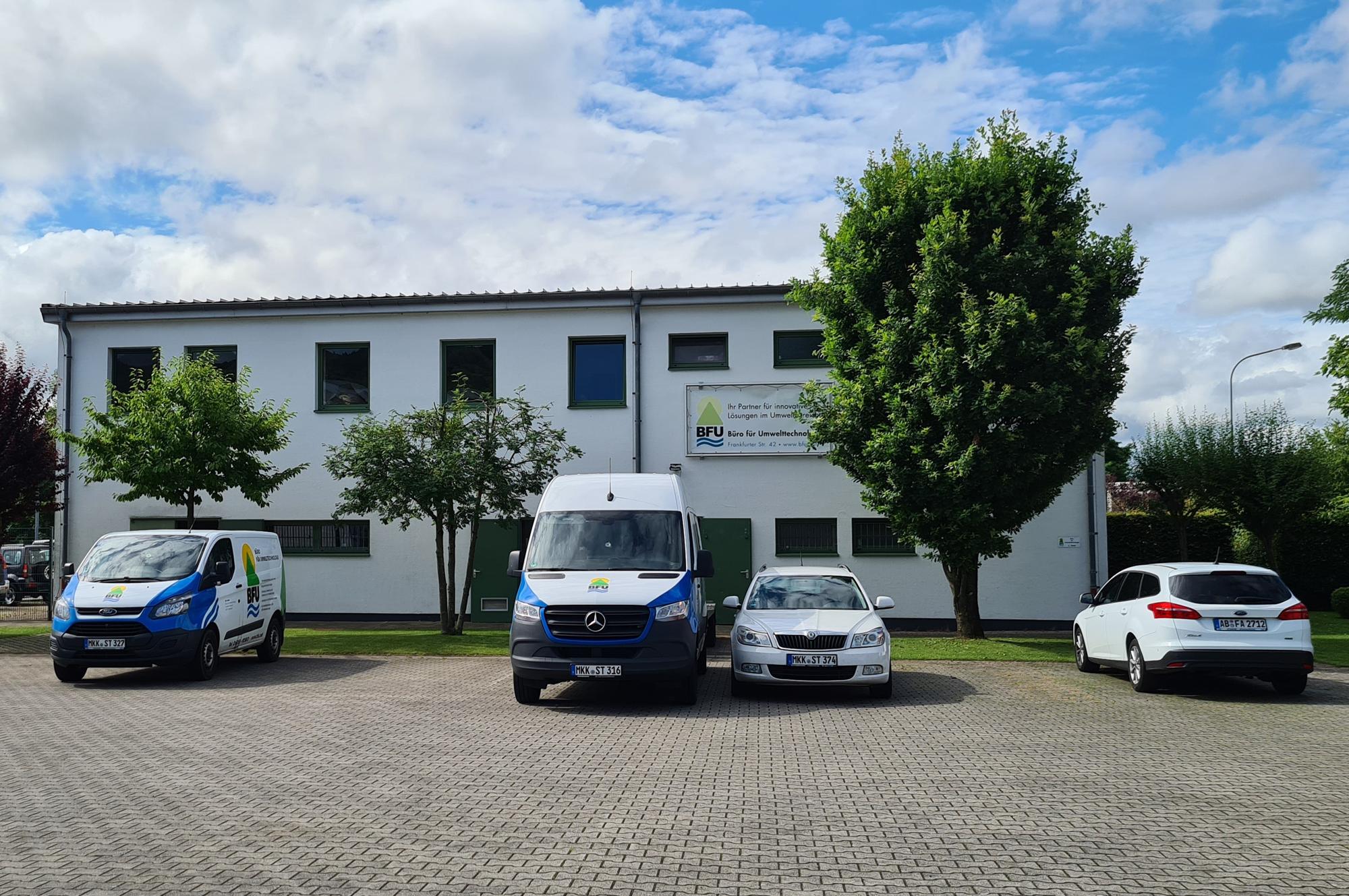 Firmengebäude Büro für Umwelttechnologie