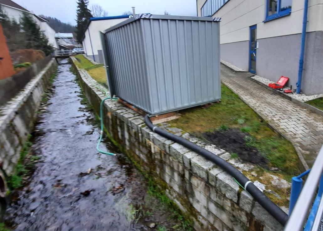 Wasseraufbereitungsanlage frostsicher