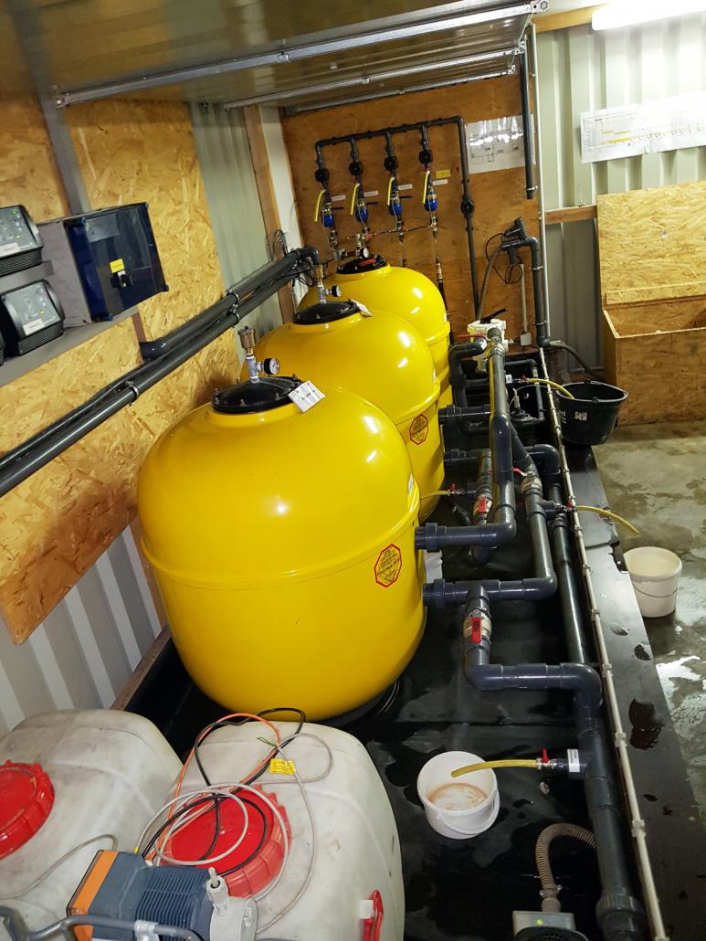 Wasseraufbereitungsanlage Tiefgarage